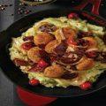 این خوراک خوشمزه با کوفته مرغ معرکه میشه! +عکس