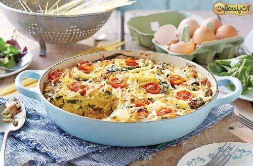کیک اسپاگتی