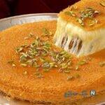 با رشته کادایف، این باقلوای خوشمزه خاورمیانه ای را تهیه کنید