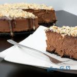 کیک مناسبی برای مهمانی، چیز کیک شکلاتی +عکس