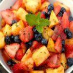 طرز تهیه سالاد میوه نیرو بخش ،زیبا و خوش طرح+عکس
