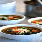 طرز تهیه سوپ اسفناج و پاستا، پیش غذای خوشمزه
