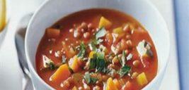طرز تهیه سوپ عدس و سبزیجات، سرشار از مواد مغذی +عکس
