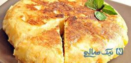 طرز تهیه نان سیب زمینی با عطری اعجاب انگیز !+عکس