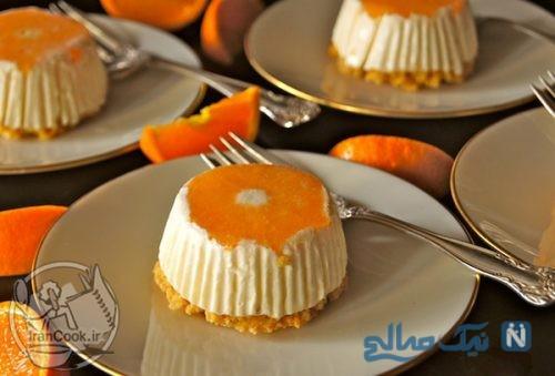 چیز کیک نارنگی