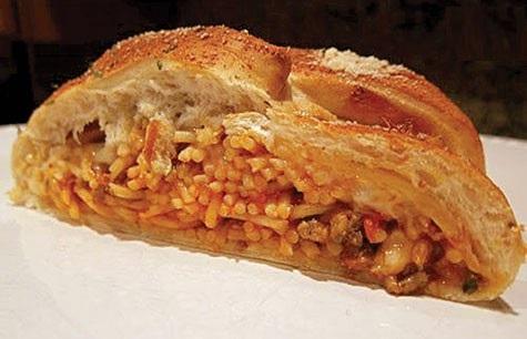 نان ماکارونی یک ایده جالب و آسان!+عکس