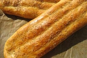 طرز تهیه نان بربری در منزل! +عکس