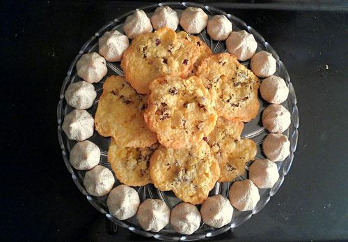شیرینی نارگیلیِ فوری بدون روغن!+عکس