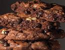 طرز تهیه کوکی دوبل شکلاتی شیرینی مخصوص عید نوروز +عکس