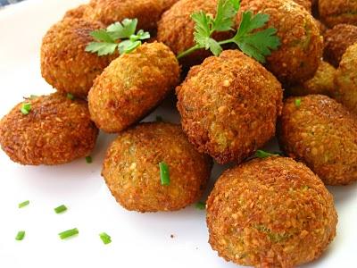 فلافل لبنانی لذیذ در کمتر از ۳۰ دقیقه! +عکس