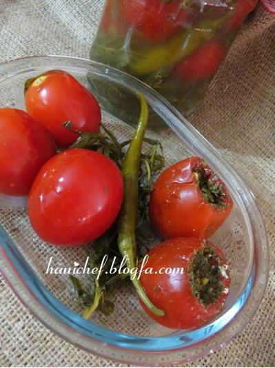 شوری گوجه فرنگی بسیار لذیذ و آسان! +عکس