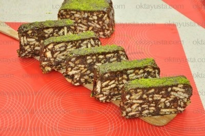 کیک موزاییکی شیک و خوشمزه بدون نیاز به پخت!+عکس