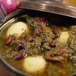 آبگوشت قرمهسبزی؛ غذای پایتخت هخامنشیان +عکس