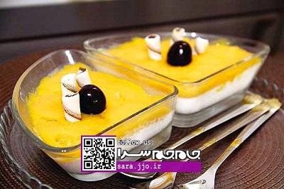 یک دسر خوشمزه خانگی ،با دستوری بسیار آسان!+عکس