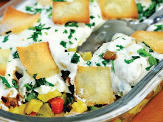 آلفته ، غذایی به سبک لبنانی ها +عکس