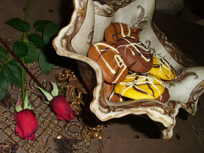 کوکیز , شیرینی خوشگل و خوش طعم! +عکس