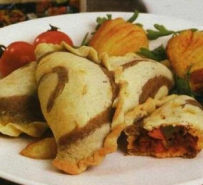 یک شام آسان و سبک با این پیراشکی خوشمزه!+عکس