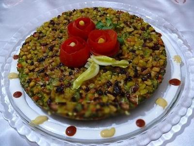 کوکوی هفت لشگر ,غذای محلی پرخاصیت و لذیذ! +عکس