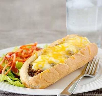 بفرمایید ساندویچ لازانیا ، متفاوت و بسیار خوشمزه! +عکس