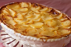 گراتن سیب زمینی و پنیر, آسان سریع خوشمزه! +عکس