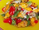 کباب ترکی مرغ / غذایی خوشمزه و خوش رنگ