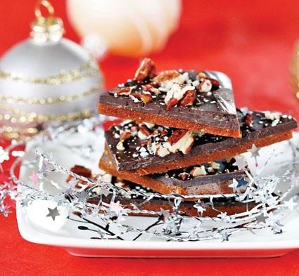 تافی شکلاتیِ گردویی مخصوص شکلات خورهای حرفه ای!+عکس
