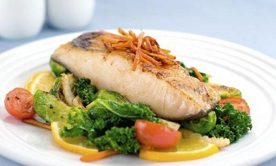 ماهی آردی، یه ناهار فرانسوی +عکس