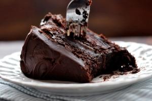 یک کیک شکلاتی، سریع و ساده +عکس
