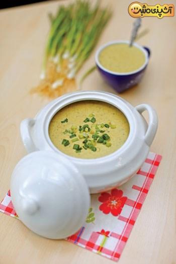 طعم لذیذ این سوپ را حتما امتحان کنید +عکس