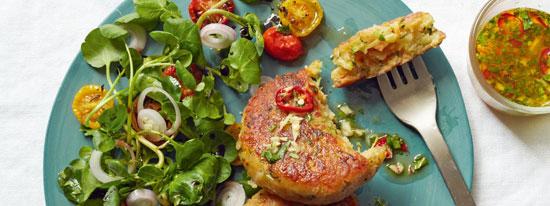 طرز تهیه «کتلت کدو» با پنیر کبابی +عکس
