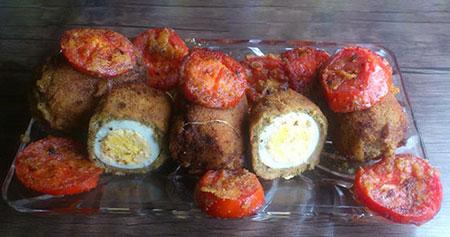 تخم مرغ را به روش اسکاتلندی ها درست کنید +عکس