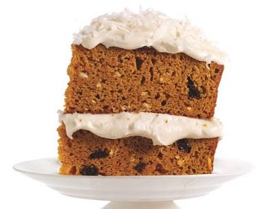 کیک کدو چندلایه، کیک پاییزی لذیذ و خوشمزه! +عکس