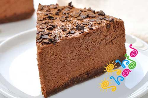چیز کیک نوتلا بدون نیاز به پختن!+عکس