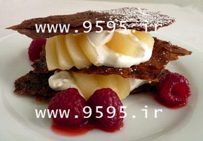 یوفکا شکلاتی ,دسر فوری و لذیذ! +عکس