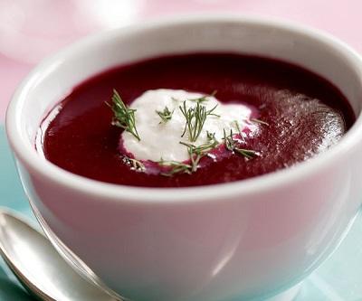 سوپ خوشمزه و خوش رنگ پاییزی با لبو! +عکس