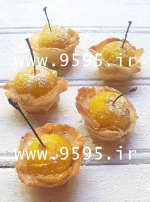 این شیرینی متفاوت و خوشمزه را حتما امتحان کنید! لقمه های آلو باخمیریوفکا +عکس