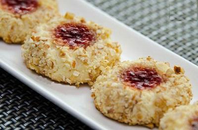 شیرینی مربایی فندق و بادام ، لذیذ و شکیل ویژه عید نوروز!+عکس