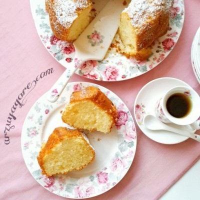 کیک لیمویی و نشاسته ای عصرانه خش عطر و خوش طعم+عکس