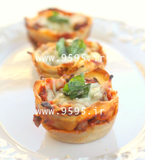 کاپ پیتزا با خمیر یوفکا, طعمی متفاوت و لذیذ! +عکس