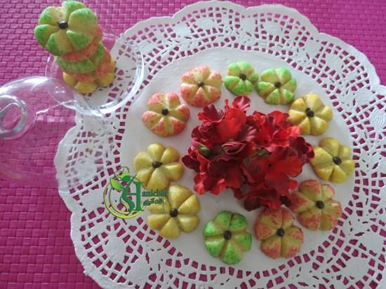 شیرینی گل شکری زیبا و خوشمزه! +عکس