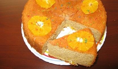 کیک پرتقالی بسیار خوش عطر و خوش طعم +عکس