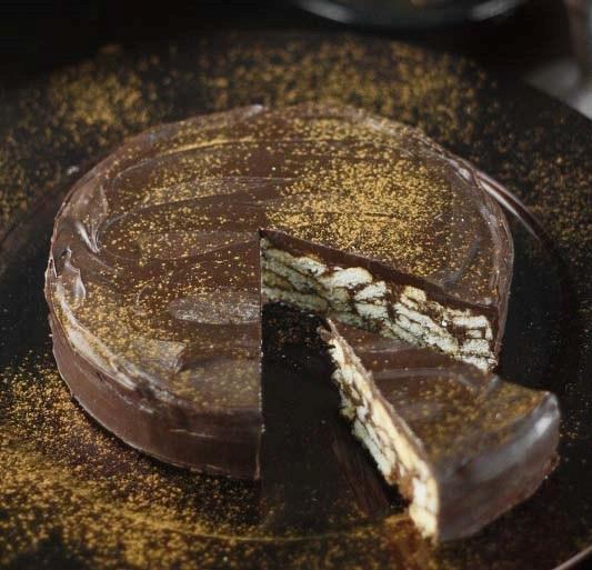 کیک بیسکویت شکلاتی پرطرفدار با دستوری ویِِژه!+عکس