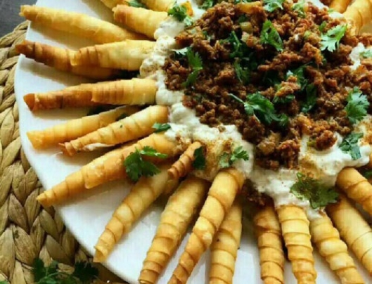 طرز تهیه یک نوع غذای خوشمزه ترکیهای +عکس