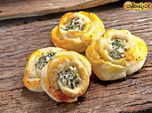 صبحانه ایرانی نان و پنیر و سبزی را مدرن تهیه کنید +عکس