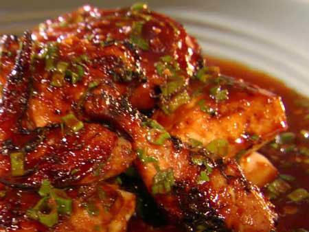 این خوراک مرغ با سس زرشک عالیه!+عکس