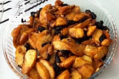 دسر سیب رژیمی بدون شکر!+عکس