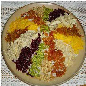 طرز تهیه مرصع پلو شیک و لذیذ! +عکس