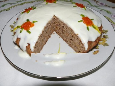 کیک هویج با تزیین زیبا و جالب! +عکس