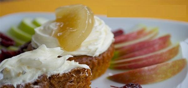 پودینگ خوشمزه سیب را حتما امتحان کنید! +عکس