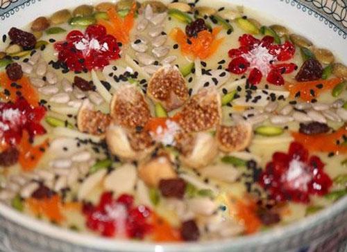 آش خشکبار، غذاهای محلی استان همدان +عکس